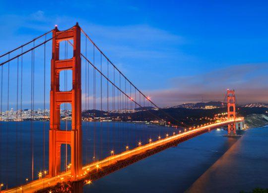 Photo of San Francisco's Golden Gate Bridge