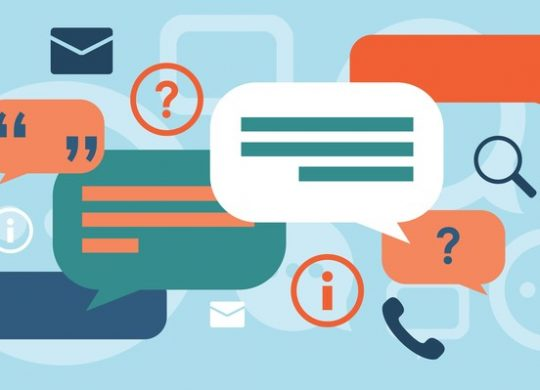 Illustration of APIs in communication